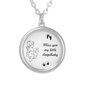 Measure you chain silver plated necklace