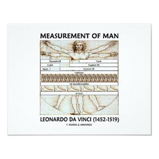 Measurement Of Man Card