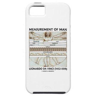 Measurement Of Man (Vitruvian Man da Vinci) iPhone SE/5/5s Case