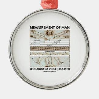 Measurement Of Man (Vitruvian Man da Vinci) Christmas Ornaments