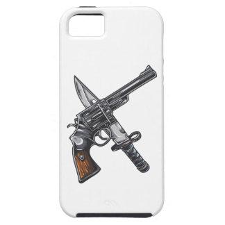 Measurer pistol knife gun iPhone SE/5/5s case