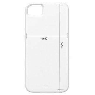 Measures iPhone SE/5/5s Case