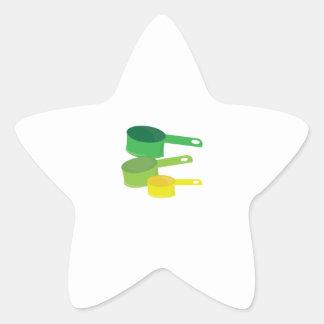 Measuring Cups Star Sticker