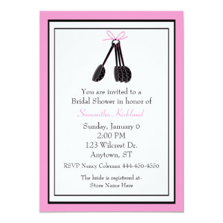 Measuring Spoons Bridal Shower Invitation