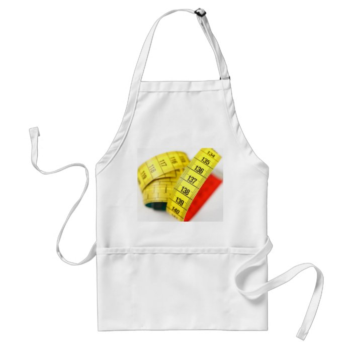 Measuring tape adult apron