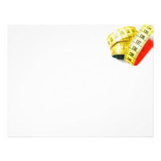 Measuring tape letterhead