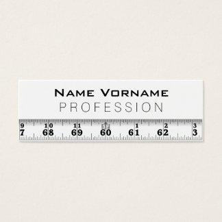 Measuring tape mini business card