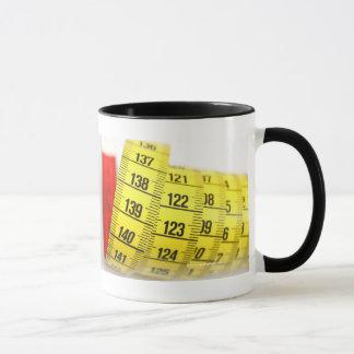 Measuring tape mug