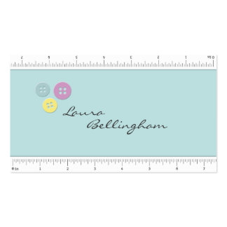 Measuring Tape Seamstress Business Card