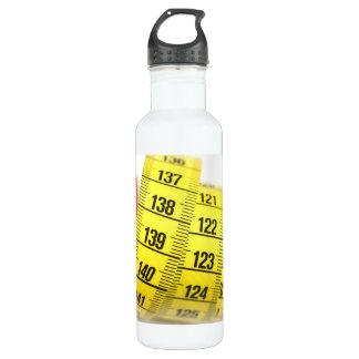 Measuring tape water bottle