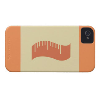 Measuring Tape Workout T-shirt Graphic iPhone 4 Case-Mate Case