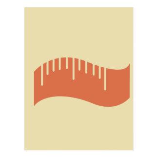 Measuring Tape Workout T-shirt Graphic Postcard