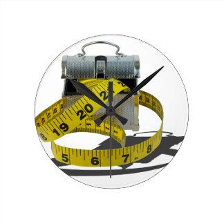 MeasuringTapeLunchBox010415.png Reloj Redondo Mediano