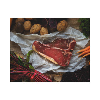 Meat and… canvas print