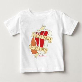 Meat and Potatoes Baby T-Shirt