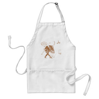 Meat ball adult apron
