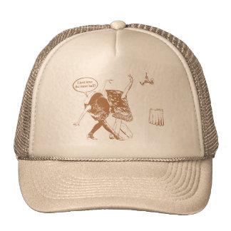 Meat ball trucker hat