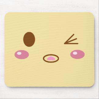 Meat Bun Face Mouse Pad