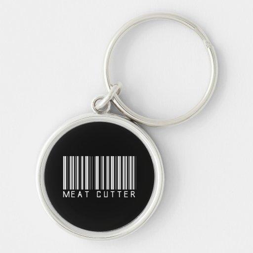 Meat Cutter Bar Code Key Chain