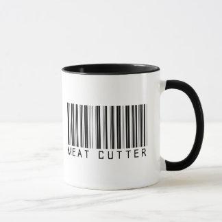 Meat Cutter Bar Code Mug
