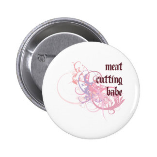 Meat Cutting Babe Pins