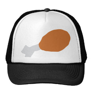 meat drumstick trucker hat
