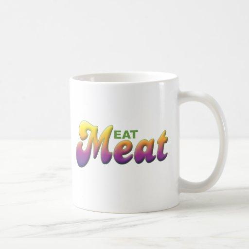 Meat, Eat Coffee Mug