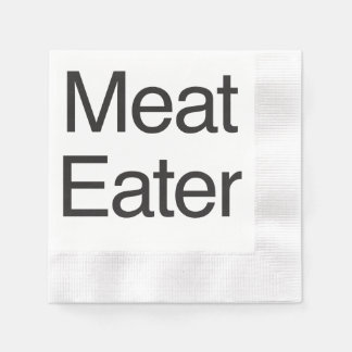 Meat Eater.ai Paper Napkin