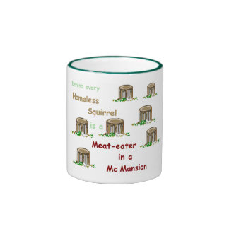 Meat-eater in a McMansion Mug