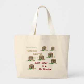 Meat-eater in a McMansion Tote