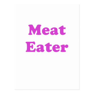 Meat Eater Post Card