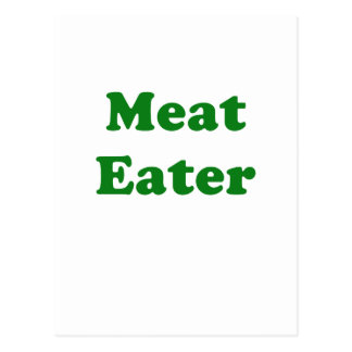 Meat Eater Postcard