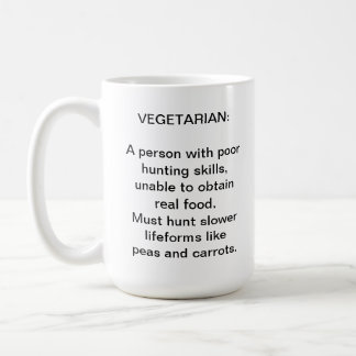 Meat eaters coffee cup classic white coffee mug