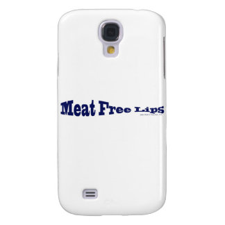Meat Free Lips - Blue Fish Shaped Samsung S4 Case