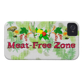 Meat-Free Zone Blackberry Bold Cover
