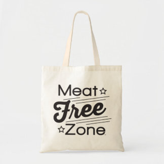 Meat Free Zone Budget Tote