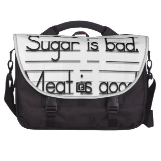Meat is good commuter bag