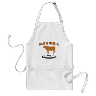 Meat is Murder! Adult Apron