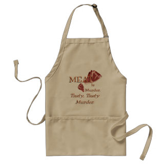 Meat Is Murder Adult Apron