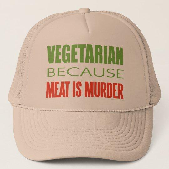 Meat Is Murder - Anti-Meat Trucker Hat