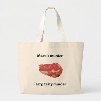 Meat is murder bag