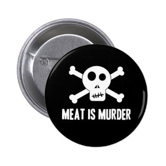 Meat is Murder Button