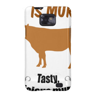 Meat is Murder! Galaxy S2 Covers