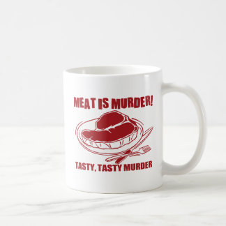 Meat Is Murder Coffee Mug