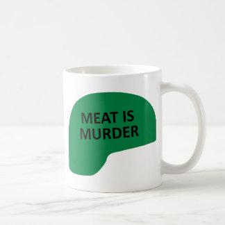 Meat is Murder Coffee Mug