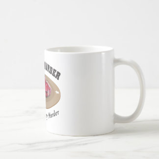 Meat Is Murder - Delicious, Tasty Murder Coffee Mug