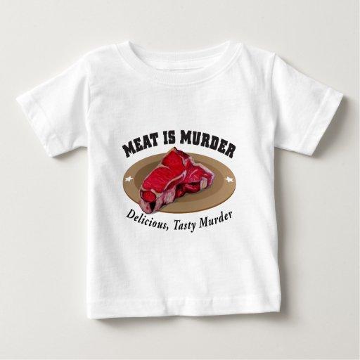 Meat Is Murder - Delicious, Tasty Murder Tees