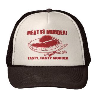 Meat Is Murder Hats