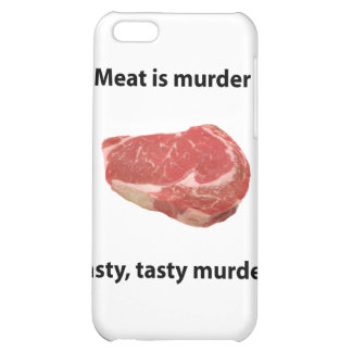 Meat is murder iPhone 5C cover