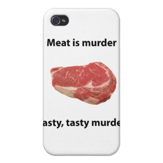 Meat is murder iPhone 4 covers